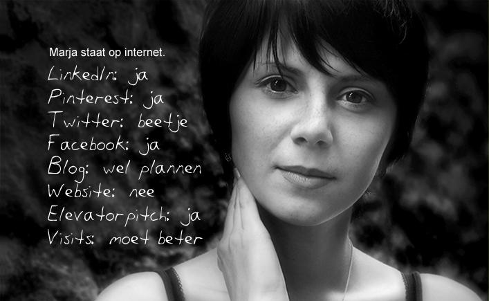 Marja staat op internet. Maar is dat al in lijn met haar andere communicatieactiviteiten? onlineYou personal branding helpt ondernemers als Marja om zowel online als offline het beste over te komen.