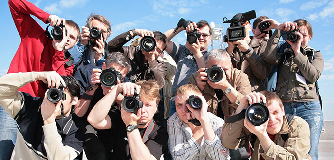 onlineYou: Paparazzi fotograferen fotomodel